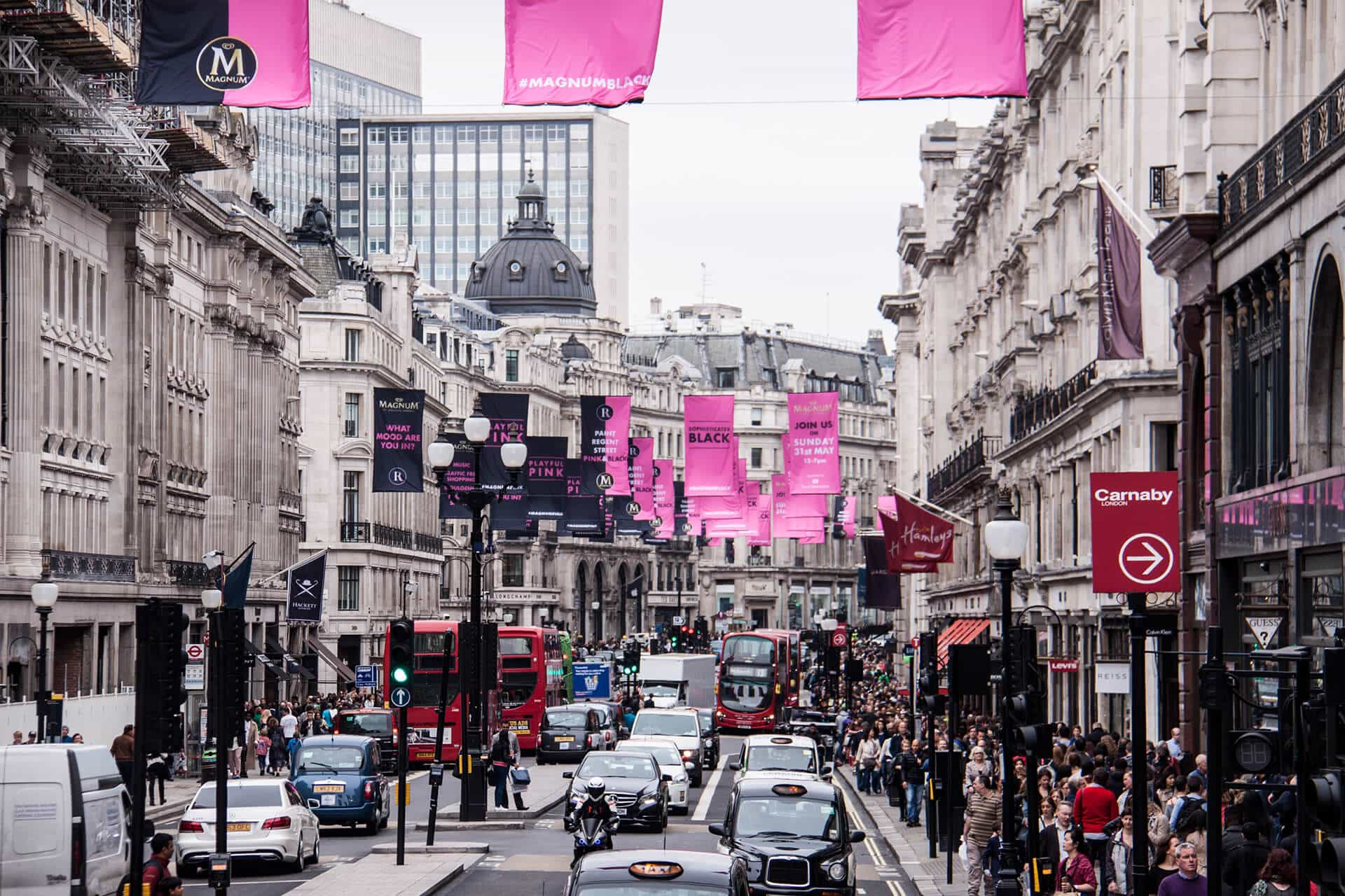 London Traveldiary Regent Street