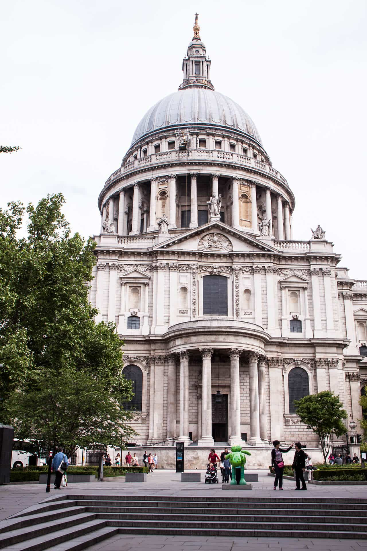 London Traveldiary St. Pauls Cathedral
