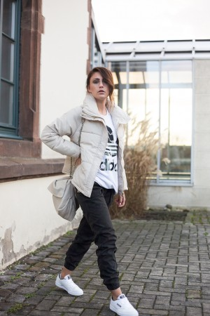 Sportliches Camouflage Outfit | Fashionblogger