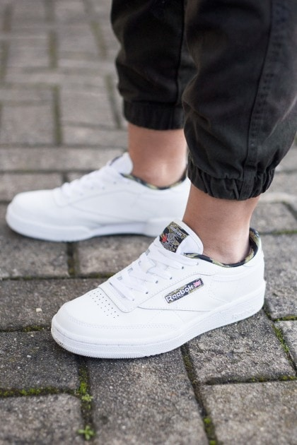 Sportliches Camouflage Outfit | Reebok Club C 48 Sneaker