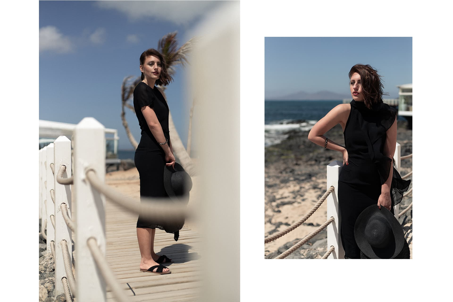 asymmetrisches Abendkleid am Strand | Evening Dress | C'est Levi Fashionblog