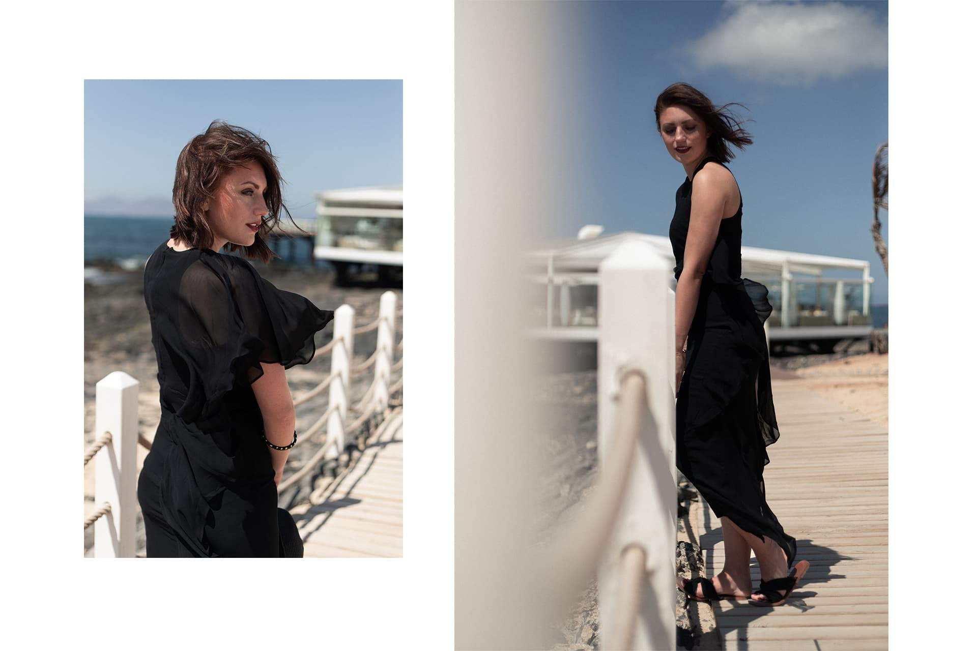 asymmetrisches Abendkleid am Strand | Fashion & Style Blogger | C'est Levi