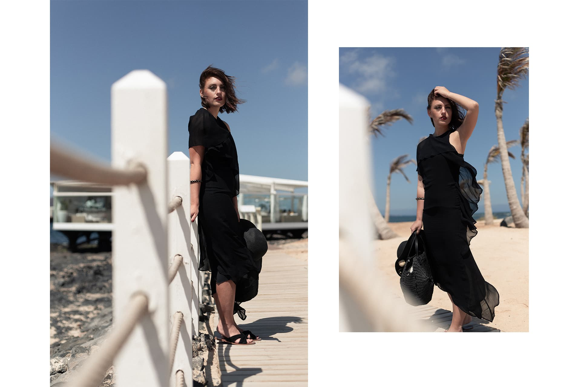 asymmetrisches Abendkleid am Strand | Fashion & Travel Blogazine | C'est Levi